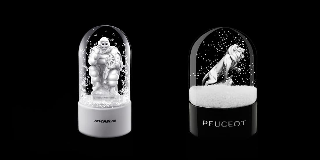 Michelin - Peugeot — Snow Globe