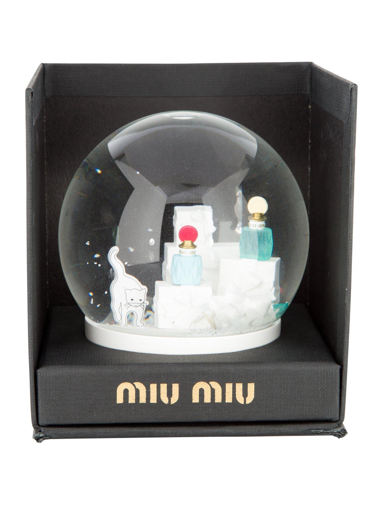 Miu Miu Snow Globe