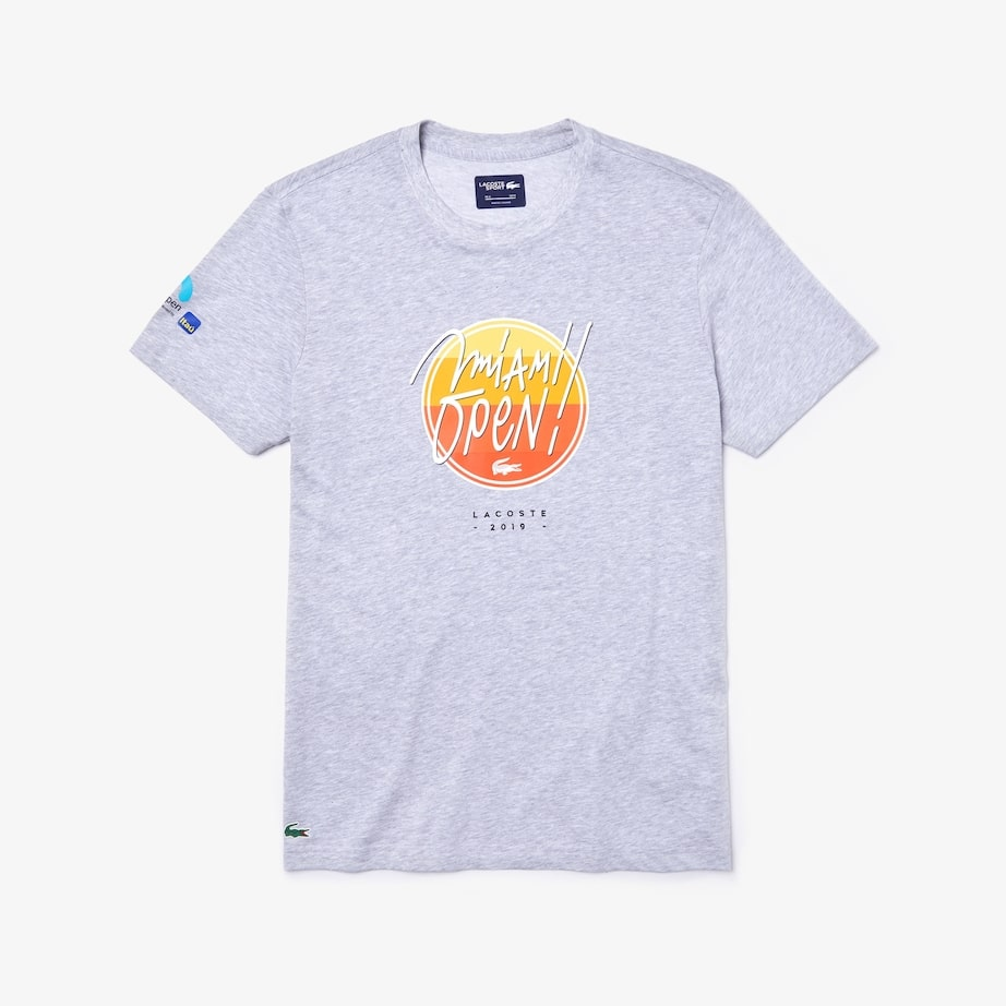 Lacoste Miami Open 2019 / mens t-shirt
