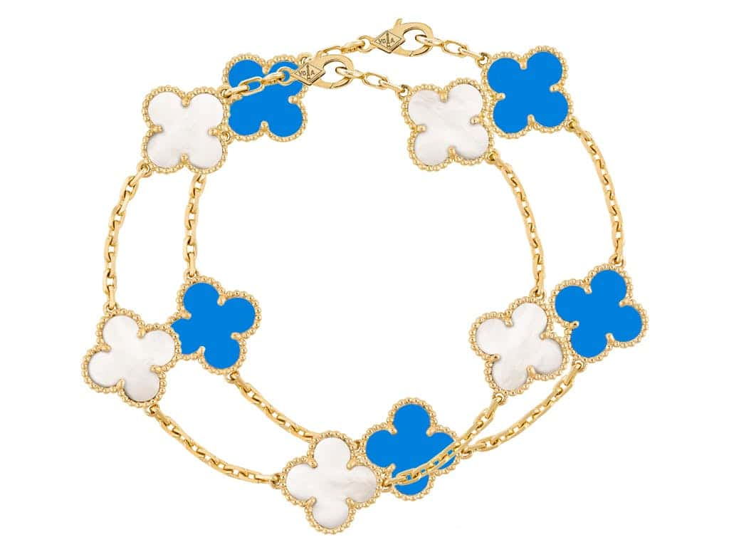 Van Cleef & Arpels 5 Motifs Vintage Alhambra Bracelet