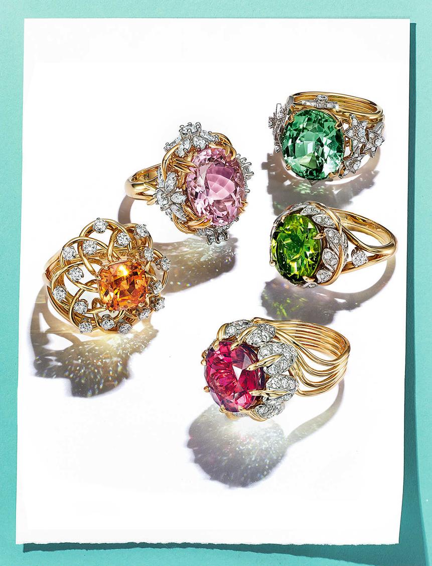Very Very Tiffany — 5 золотых колец Шлюмберже