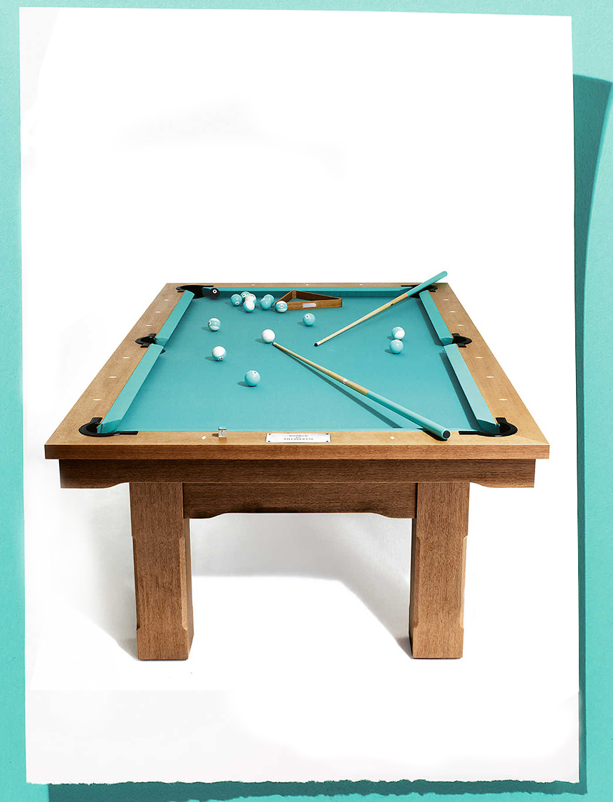 Very Very Tiffany — Pool table