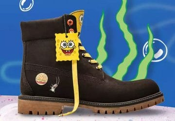 Timberland x Sponge Bob collaboration