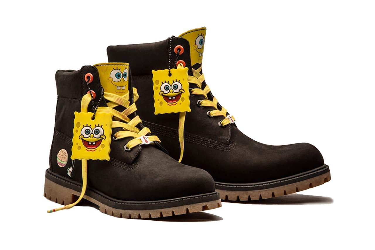Timberland x Sponge Bob Collection