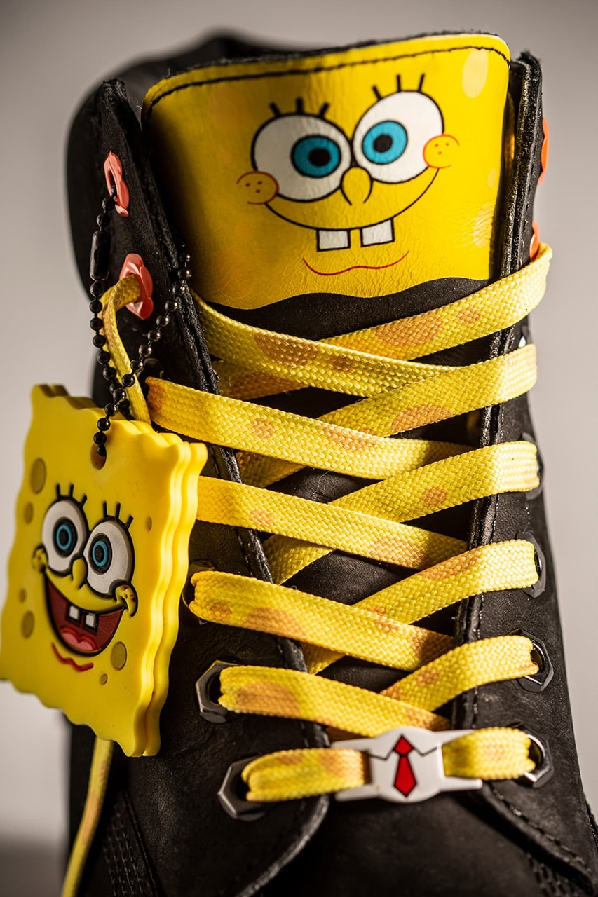 Timberland x Sponge Bob Collection