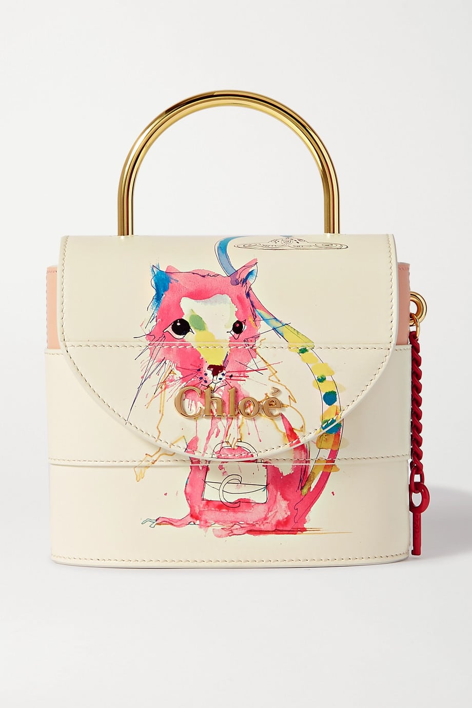 Chloe Small Aby Lock handbag