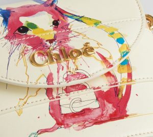 Chloe Small Aby Lock handbag