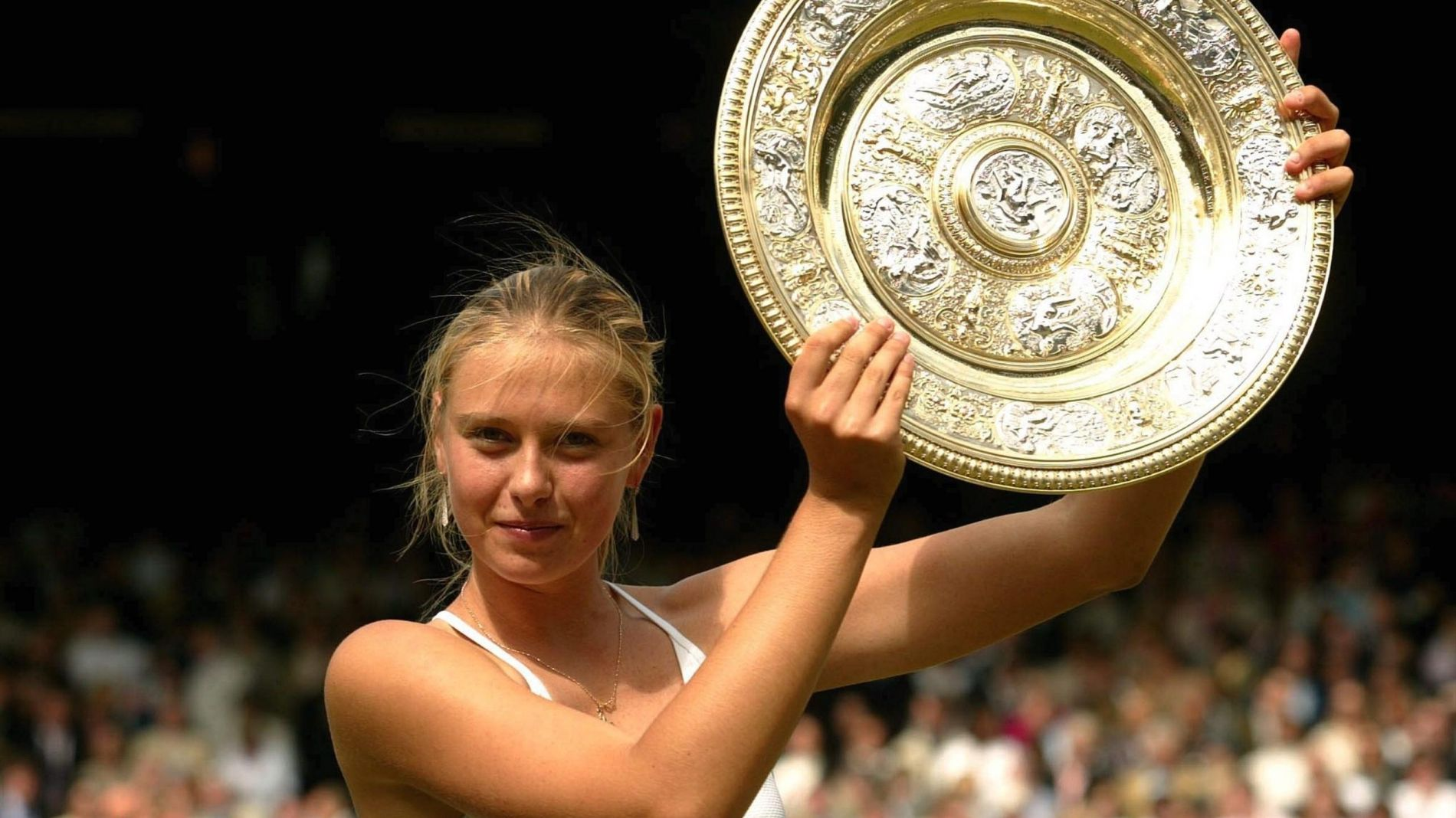 Maria Sharapova, Wimbledon 2004