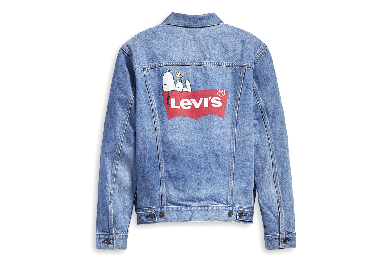 Levi's x Peanuts Summer 2019 capsule collection