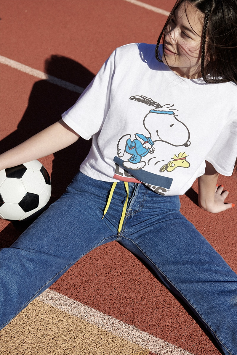 Levi's x Peanuts Summer 2020 capsule collection