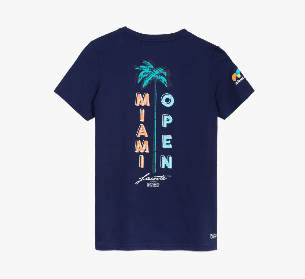 Women's SPORT Miami Open Palm Tree Print T-shirt
